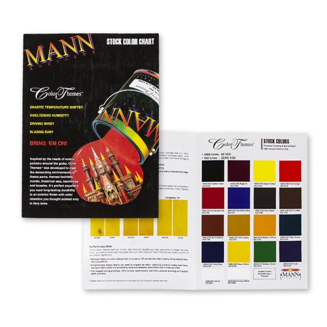 MANN BROTHERS COLOR